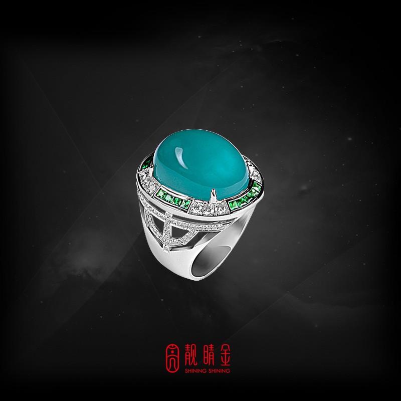 22.82克拉台灣藍寶戒(珍藏品,請來電洽詢)