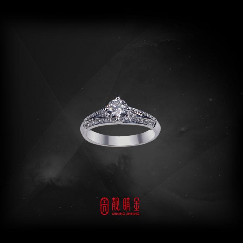 GIA50分-51分F/VS1鑽石女戒
