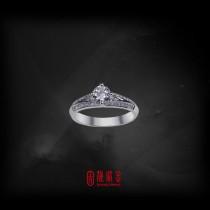 GIA50分-51分F/VS1鑽石女戒(GIA鑽石以時價計算,請來電洽詢)