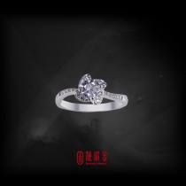 GIA50分-50分E/VS1鑽石女戒(GIA鑽石以時價計算,請來電洽詢)