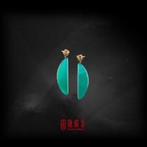 62.63克拉台灣藍寶耳環(珍藏品,請來電洽詢)