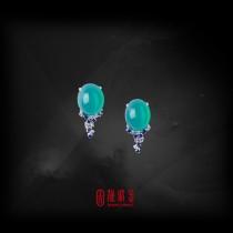 9.42克拉台灣藍寶耳環(已承蒙收藏)