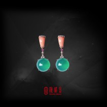 27.48克拉台灣藍寶耳環(珍藏品,請來電洽詢)